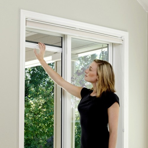 retractable window screen kit retractable door window