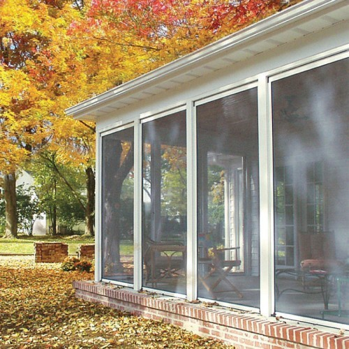 Patio roll down screens modern patio outdoor Motorized porch screens