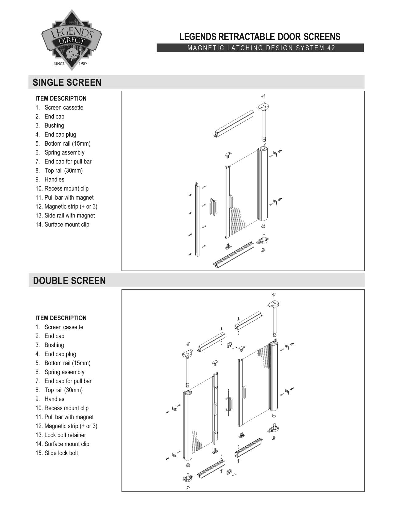 door installation how to install retractable screen door