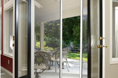 French Door Retractable Screens