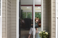 Single Door Retractable Screens