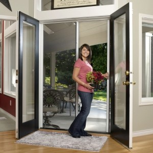 Tall Double Door Retractable Screen Kit