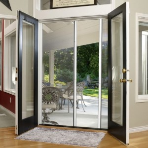 Tall Custom Double Door Screen