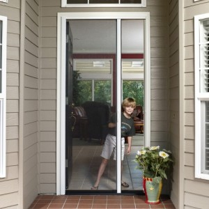 Tall Single Door Retractable Screen Kit