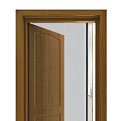 Retractable Single Door Screen Kit