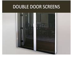 ... Retractable French Door Screens ...